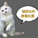 貓談社管理的5個臉書社團,來看看有沒有您想加的吧!